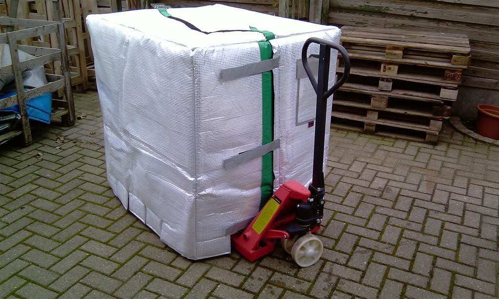 ibc bulk container thermal cover fluids paints krautz temax. Black Bedroom Furniture Sets. Home Design Ideas