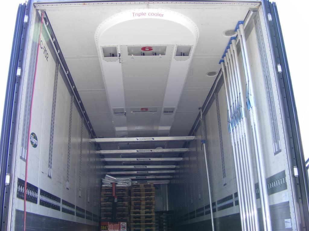 Krautz Temax Triple Cooler Kühlsystem Kühlfahrzeug Kühlauflieger