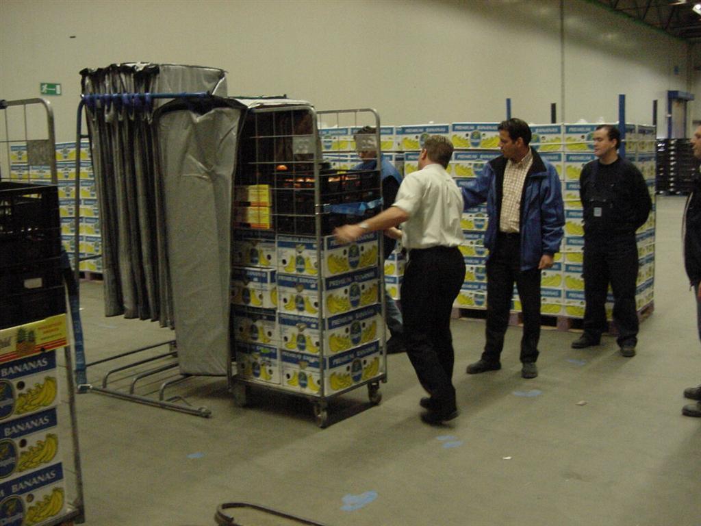 Krautz Temax temperaturschutz Bananen Thermohaube Transport Lagerung Logistik