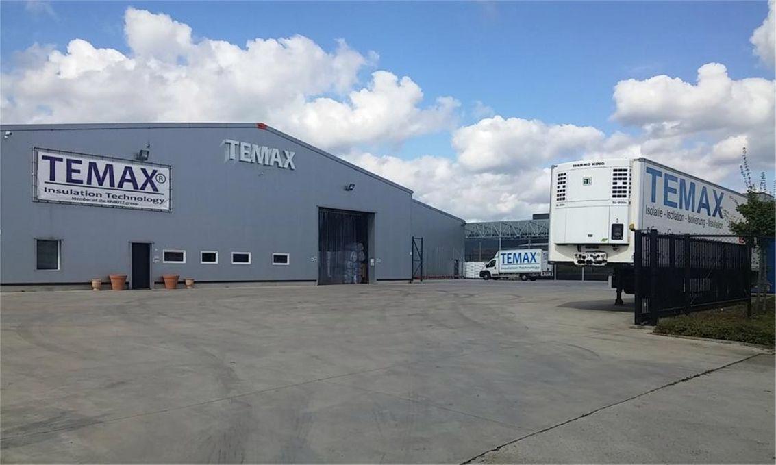 Temax Krautz Manufacturing plant production Belgium Europe