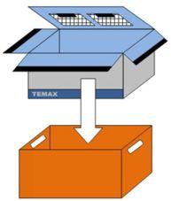 Krautz Temax isolierte faltbox klapbox
