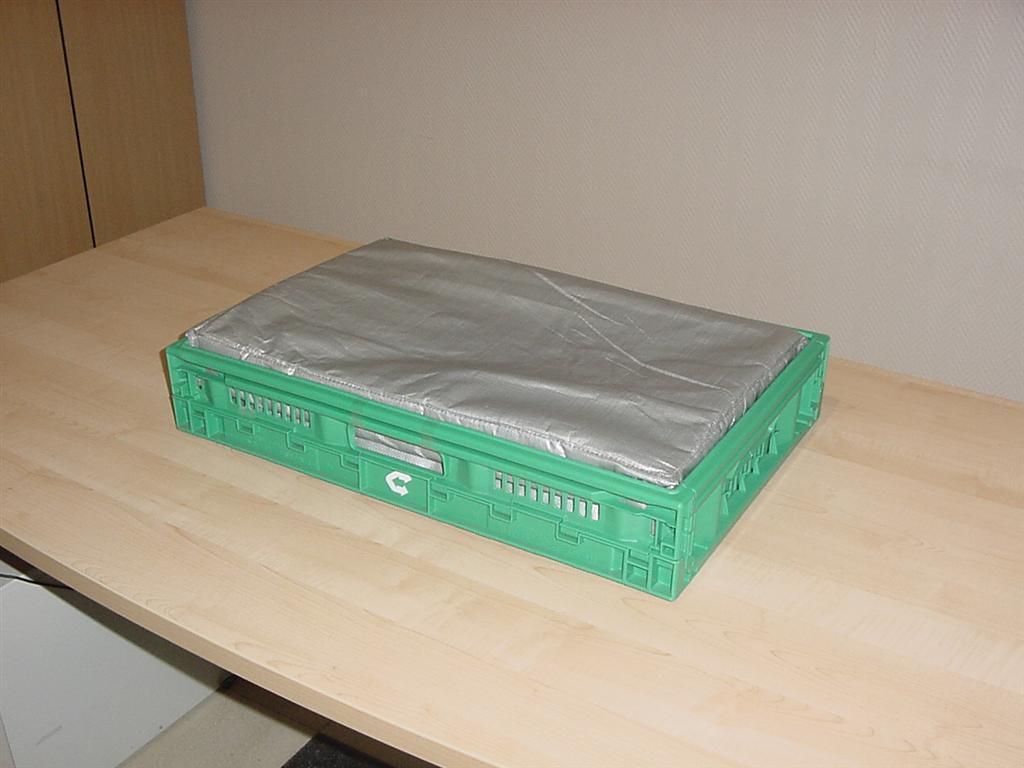 Krautz Temax isolierte Klappbox Faltbox Frischwaren Kühlwaren