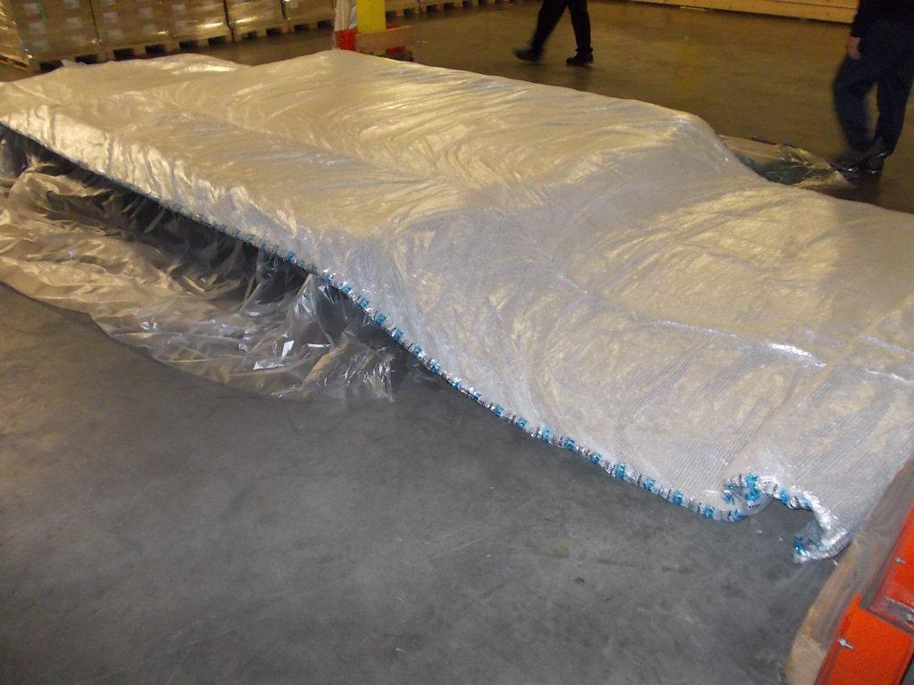 Temax thermal blankets isolierdecke ULD PMC Palette Luftfracht LD7 Pharmazeutika Lebensmitteln