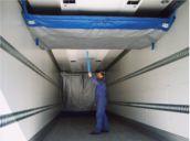 Temax thermal partition wall trailer, isolierte Trennwand LKW Kuehlauflieger, geïsoleerde scheidingswand koeloplegger, paroi isotherme remorque