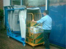 Krautz TEMAX bifold haube cover hoes voor bananen - bananas transport