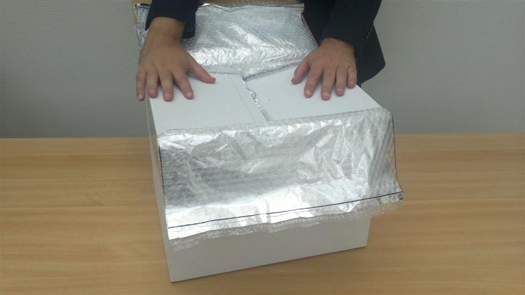 Krautz Temax carton boîtes isolée thermique isothermes