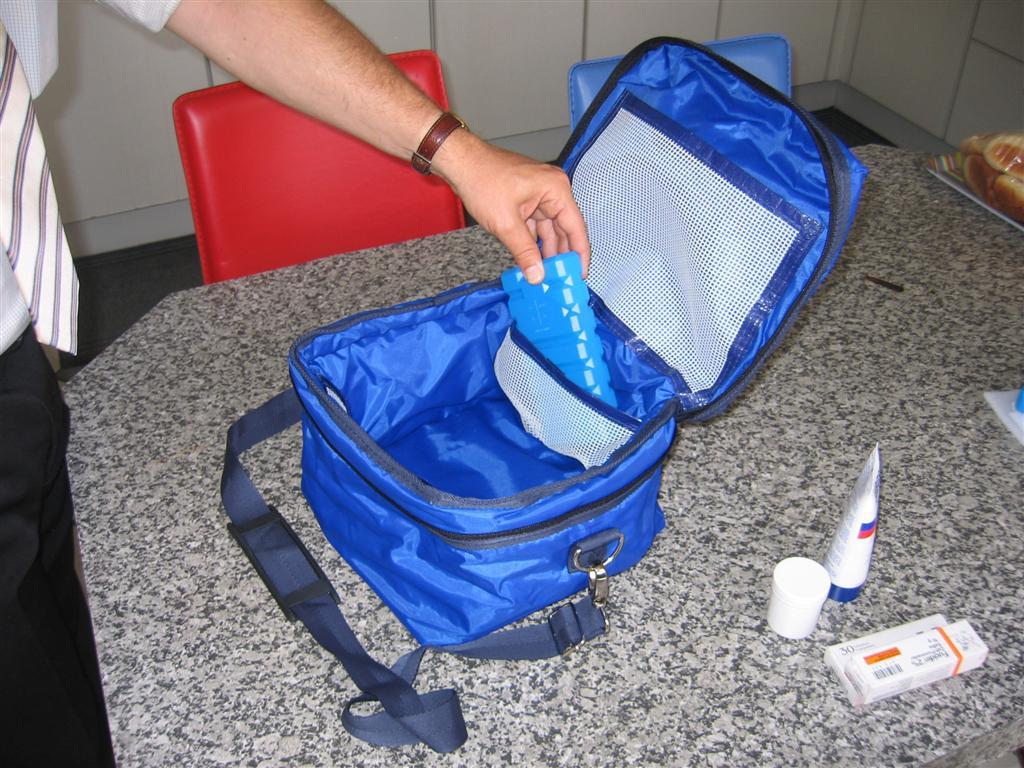 Krautz Temax sac isotherme thermique isolée pharmaceutique medicament
