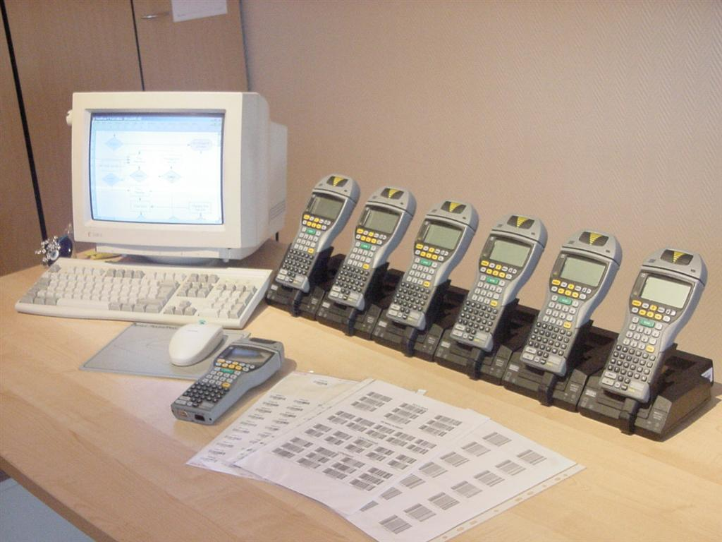 Krautz Temax track trace barcode RFID