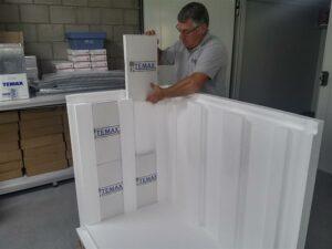 Temax EPS Polystyrene Pallet shipper pallet box transport