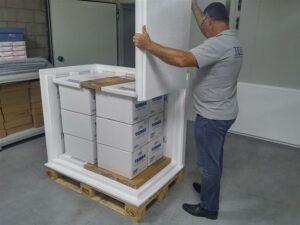 Temax Palettebox isolierte Behälter Pharmazeutika Luftfracht