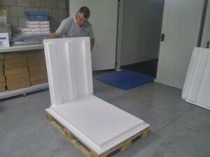 TEMAX EPS Polystyreen geïsoleerde pallet shipper - palletbox