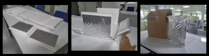 EPS piepschuim doos - vouwbaar - minimale opslagplaats - productie op maat