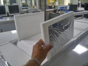 EPS vouwbare geïsoleerde Piepschuim dozen voor vers diepvries