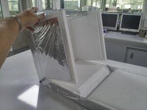 Temax faltbare EPS Styropor box für minimale Lagerung platz ersparung