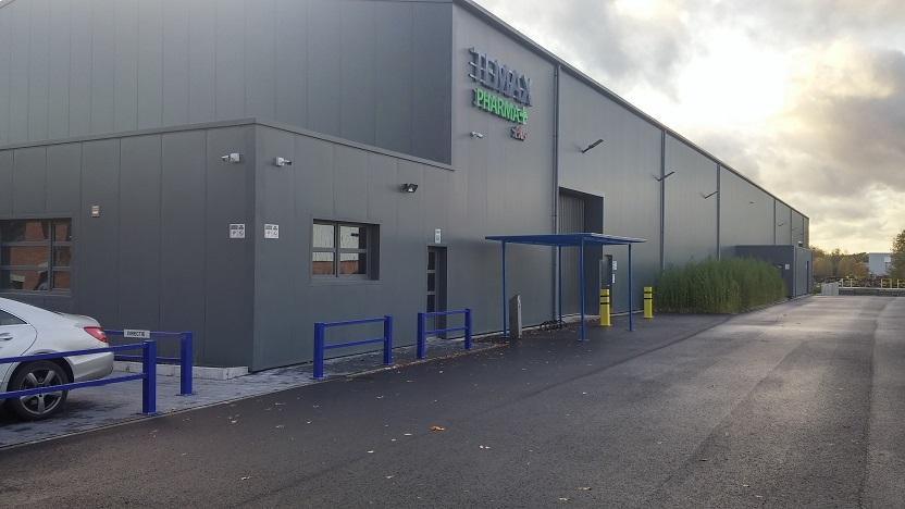 TEMAX Pharma European Logistiocs center for thermal packaging