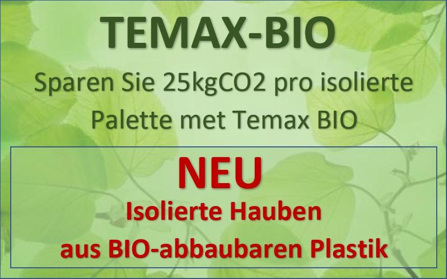 TEMAX BIO abbaubare plastik thermohauben